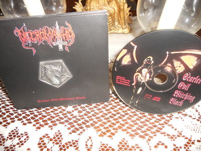 Necromantia - Scarlet Evil Witching Black (Digipack+Metalpin)