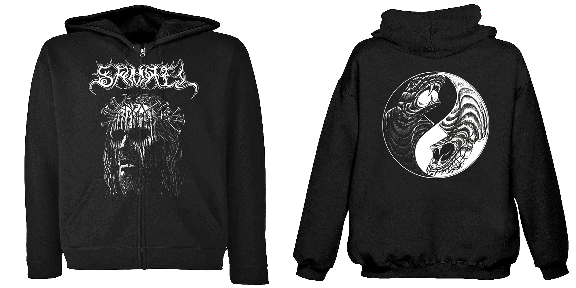 Samael - Ceremony of Opposites  (Hooded Zipper)