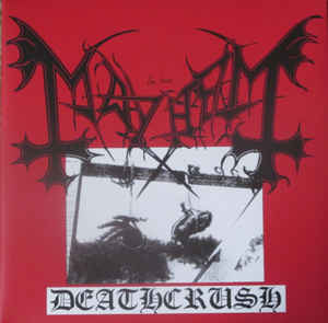 Mayhem - Deathcrush  (Gatefold,clear vinyl)