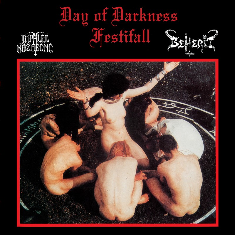 Impaled Nazarene / Beherit - Day of Darkness  (Digipak)