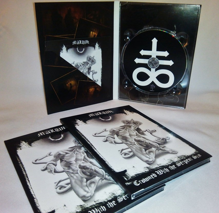 Malum - Crowned With The Serpent Sun  (A5 Digipak,Lim. 100)