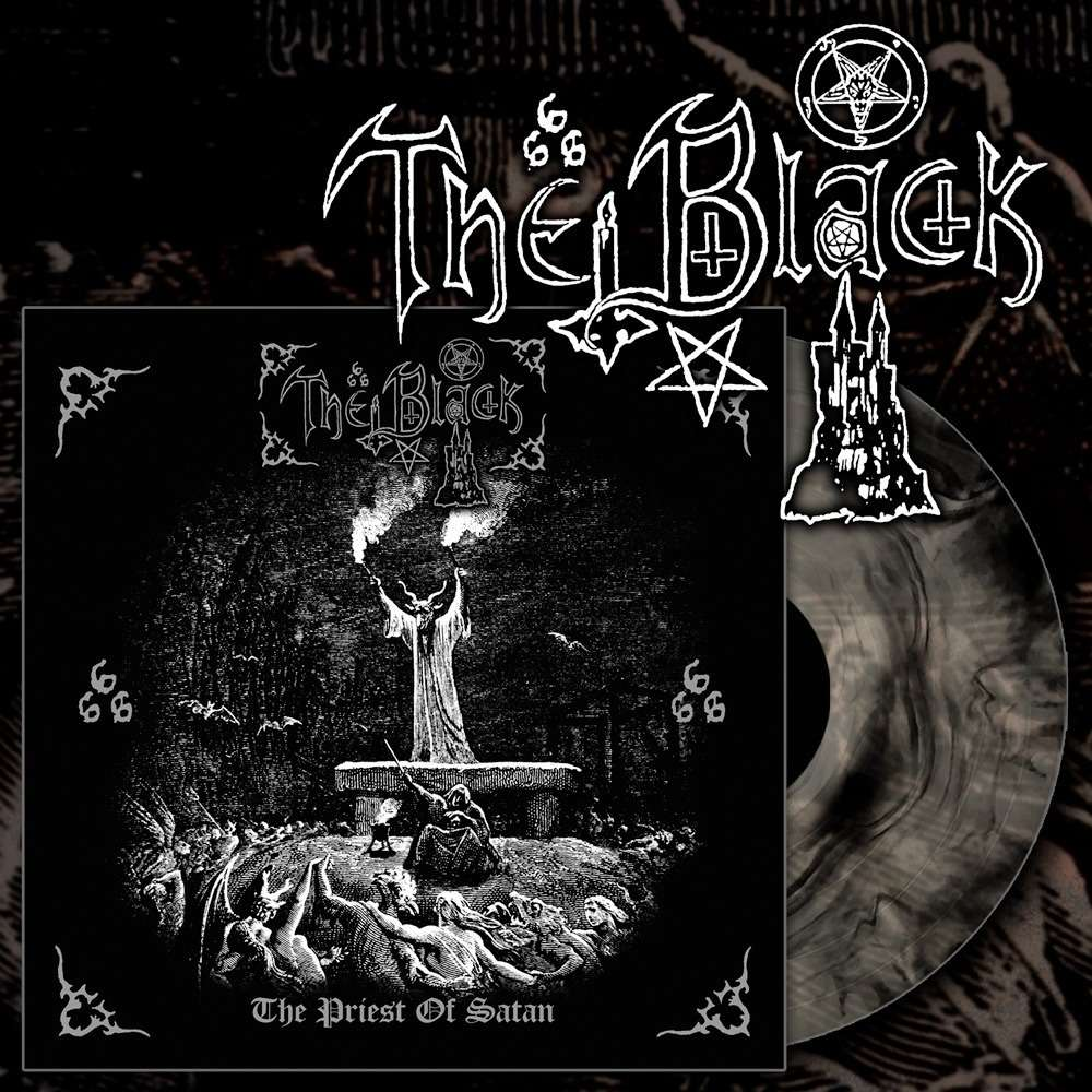 THE BLACK - The Priest Of Satan (Black Galaxy Vinyl )