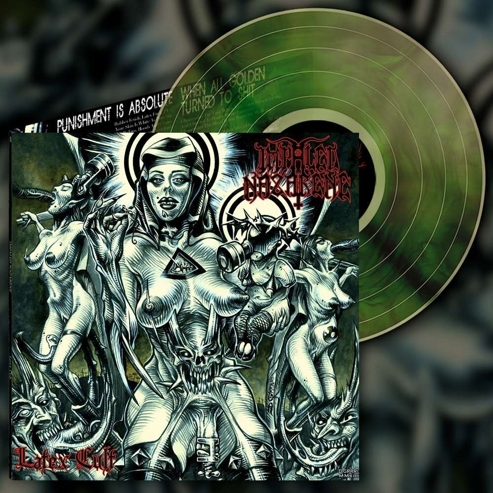 IMPALED NAZARENE - Latex Cult (Green Galaxy Vinyl)