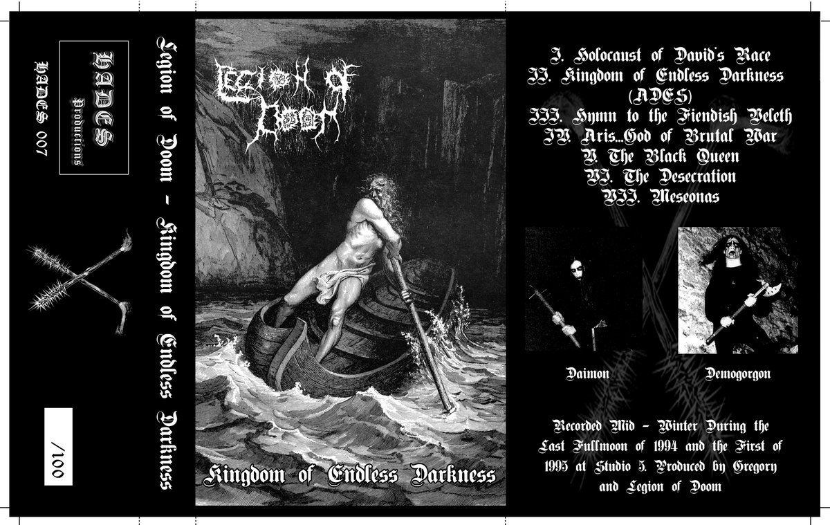 LEGION OF DOOM - Kingdom of Endless Darkness