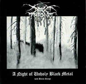 Darkthrone – A Night Of Unholy Black Metal