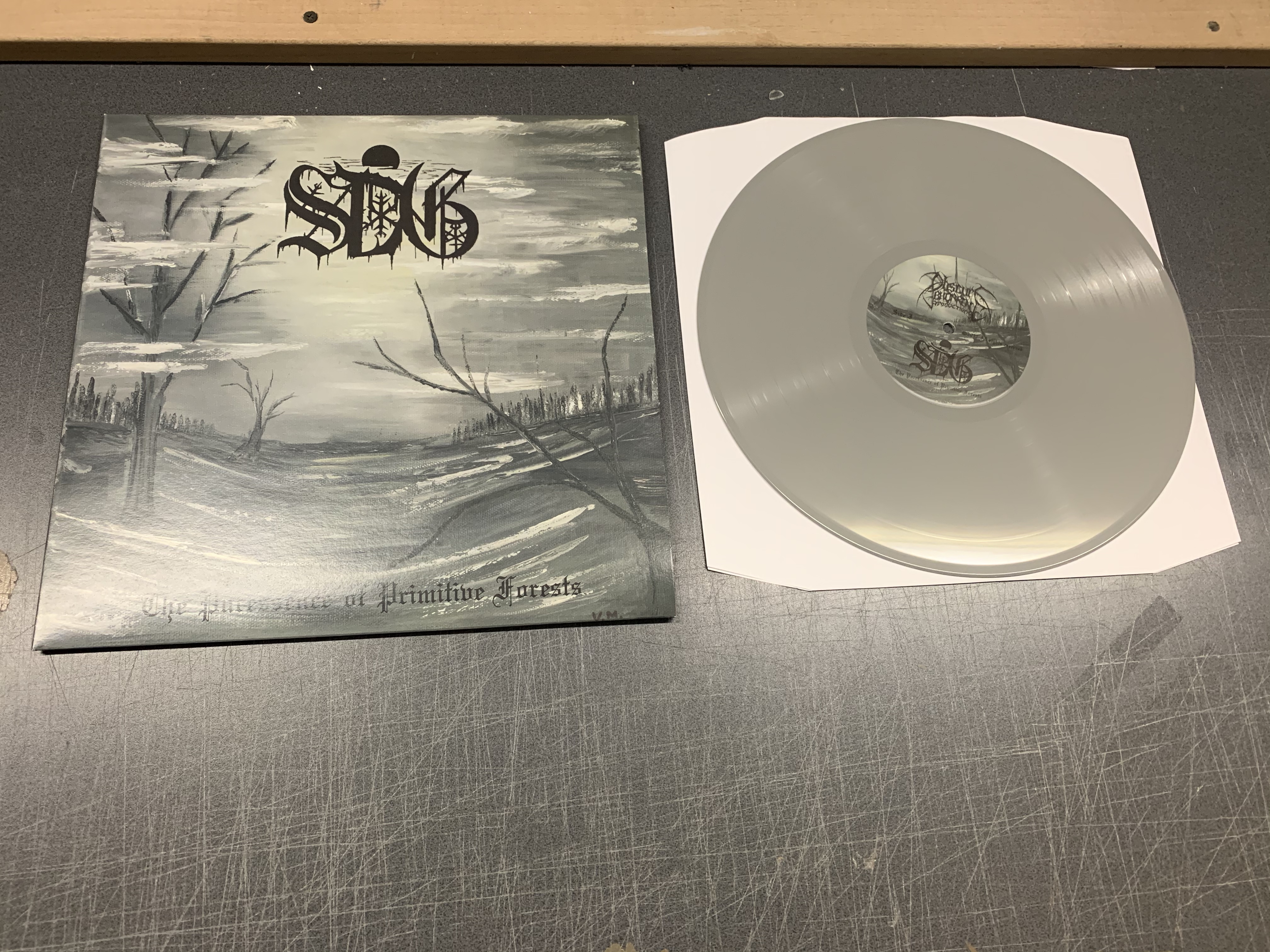 Sorcier des Glaces - The Puressence of Primitive Forests  (Grey vinyl,Lim.100)