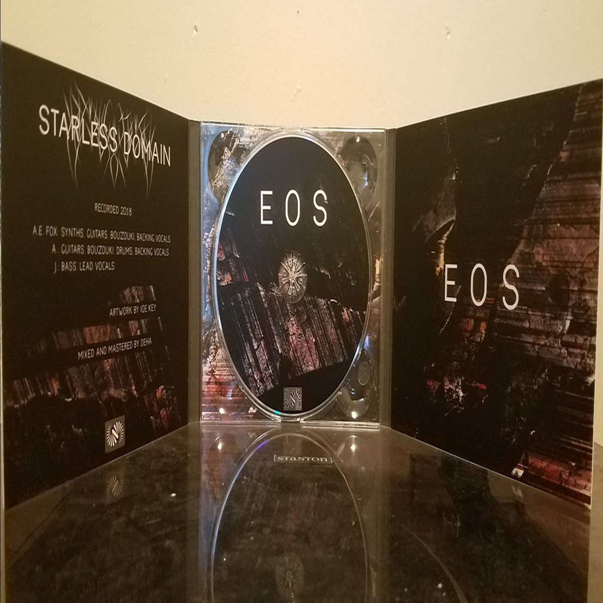 Starless Domain – EOS  (Digipack)
