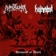 NUNSLAUGHTER / HATEVOMIT - Nunvomit of Death!