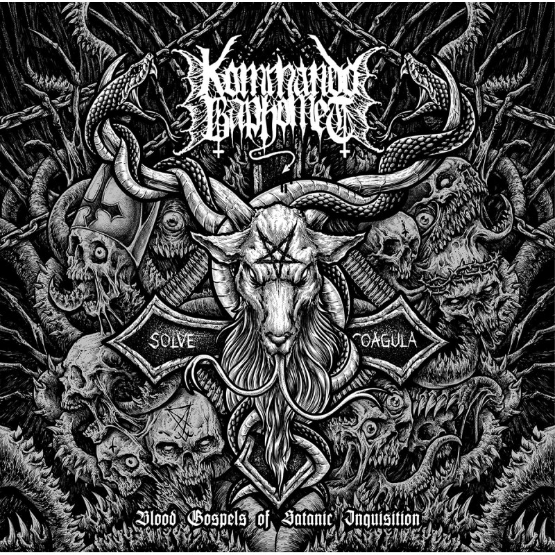 KOMMANDO BAPHOMET - Blood Gospels of Satanic Inquisition