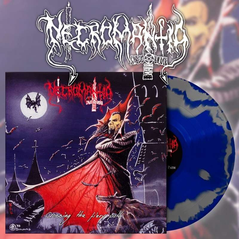 NECROMANTIA - Crossing The Fiery Path (Swirl Vinyl)