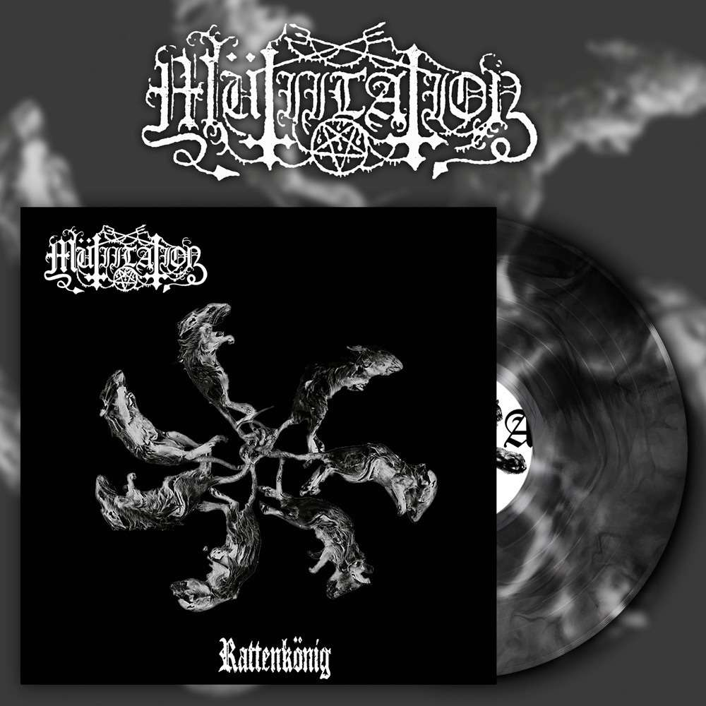 MUTIILATION - Rattenkönig (Black Galaxy Vinyl)