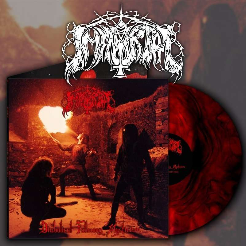 IMMORTAL - Diabolical Fullmoon Mysticism (Red Galaxy Vinyl)