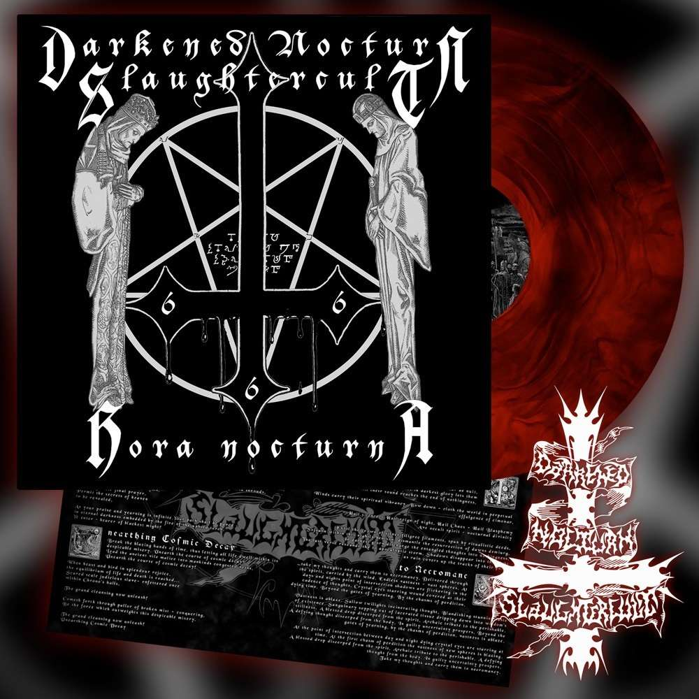 DARKENED NOCTURN SLAUGHTERCULT - Hora Nocturna (Red Galaxy Vinyl)
