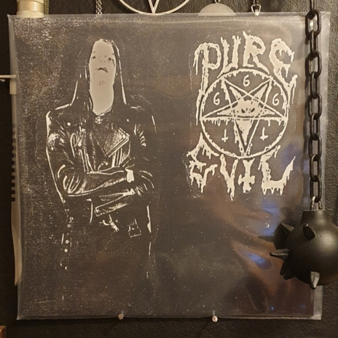 Pure Evil / The True Werwolf - Split