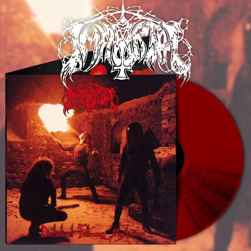 IMMORTAL - Diabolical Fullmoon Mysticism (Red vinyl)