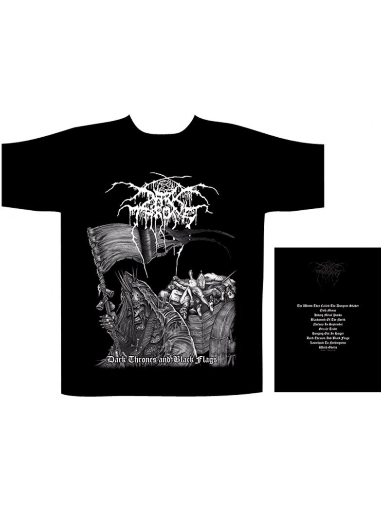 Darkthrone-Dark thrones and black flags Shirt