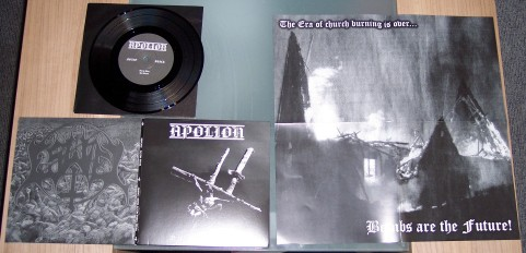Apolion/Eswiel-Split  (black vinyl)