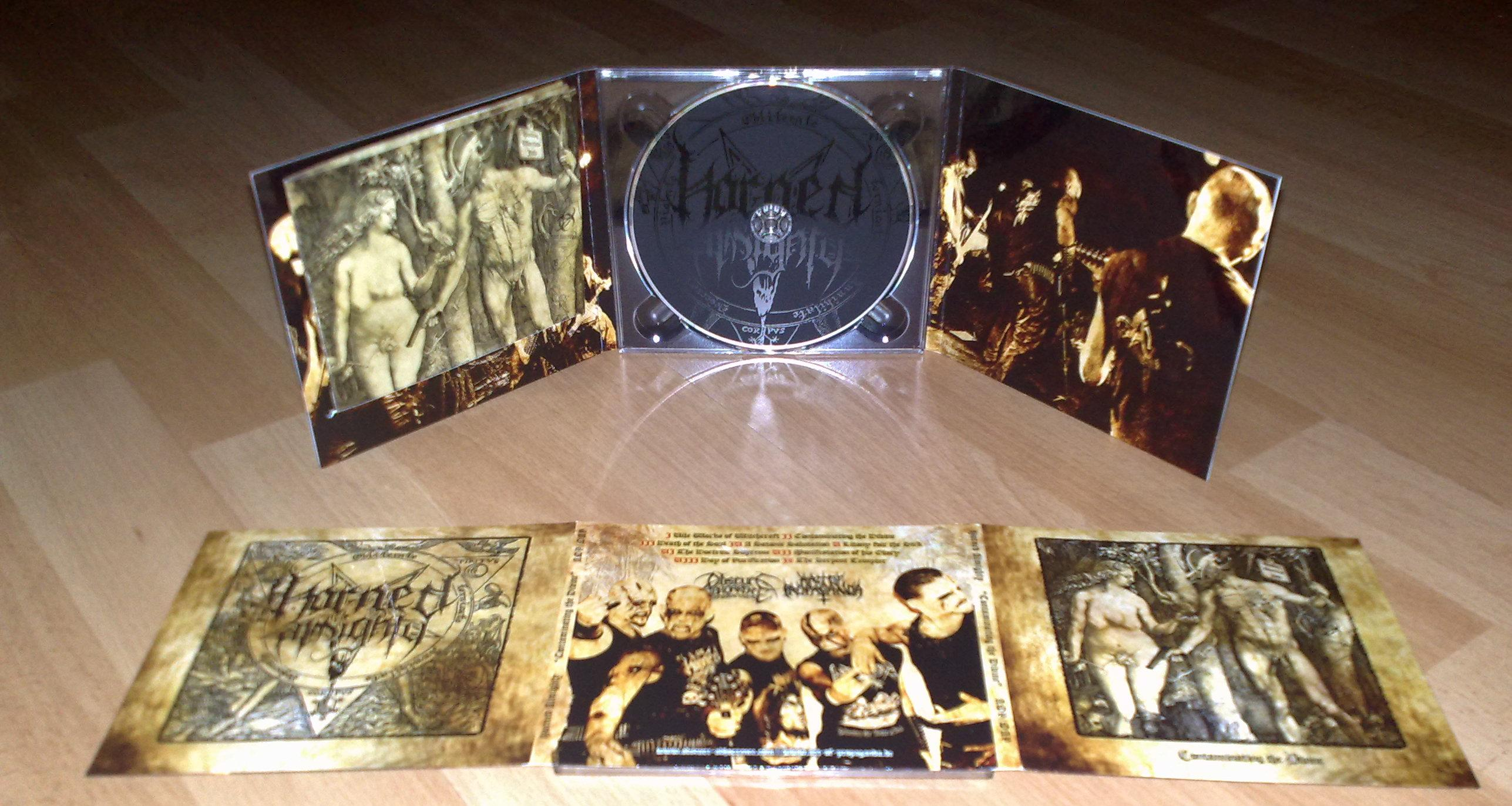 Horned Almighty-Contaminating The Divine (Digipack,Lim.300)