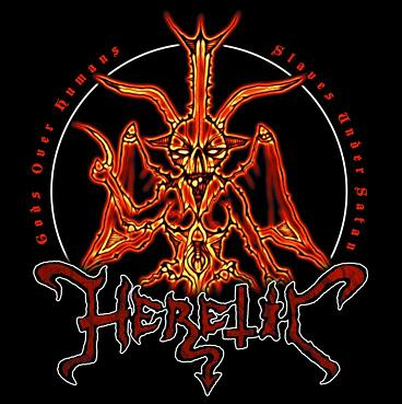 Heretic  - Gods Over Humans, Slaves Under Satan