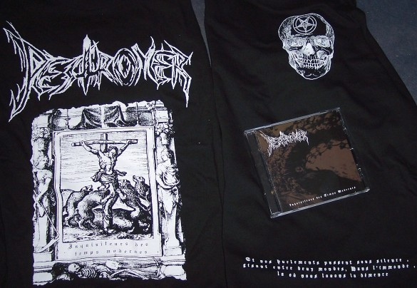 Pestroyer-Inquisiteurs des Temps Modernes (+T-shirt Lim. 50)