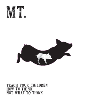 Mt. - Teach Your Children How To Think, Not What To Think
